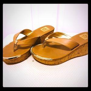Dolce Vita - cork platform sandals